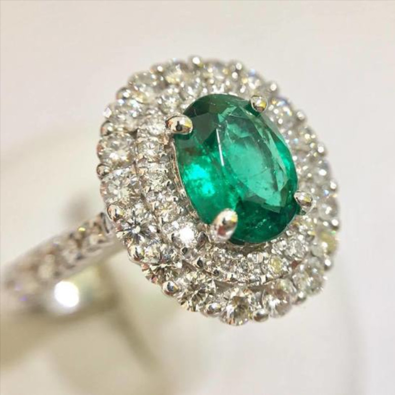 anello_smeraldo_vendo-gioielli_diamante-pietre-preziose-comproorotorino
